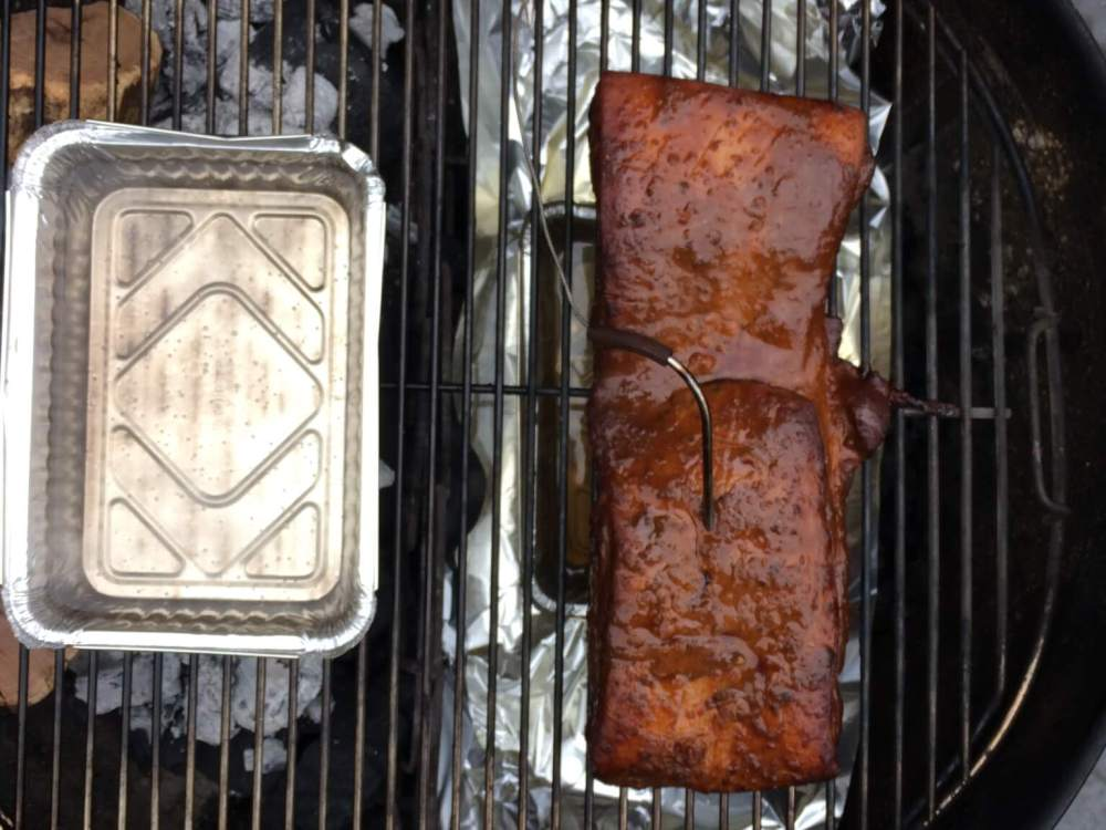 Zeeuws spek op de barbecue
