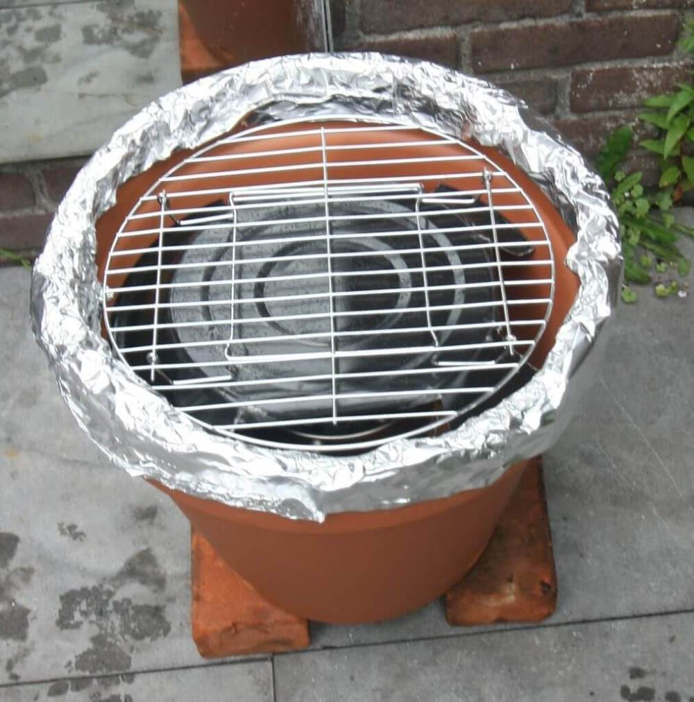 Aluminiumrand afdichting van de goedkoopste kamado