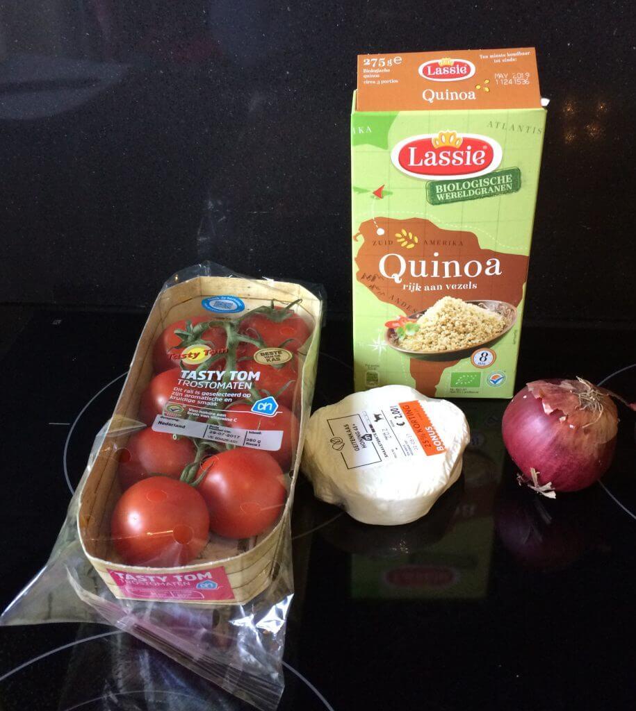 Afgetopte tasty toms ingrediënten