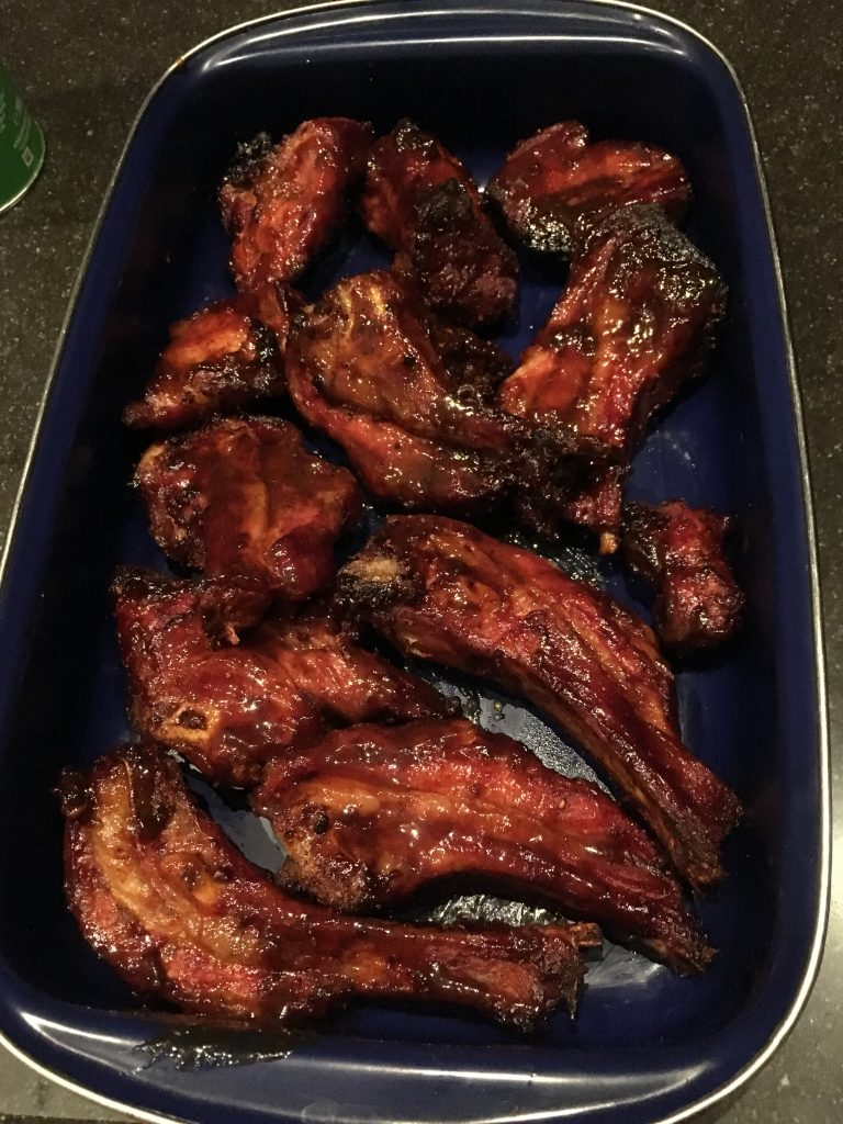 Lamsribben op de barbecue recept