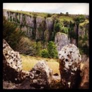 Impressive edges in Cheddar Gorge