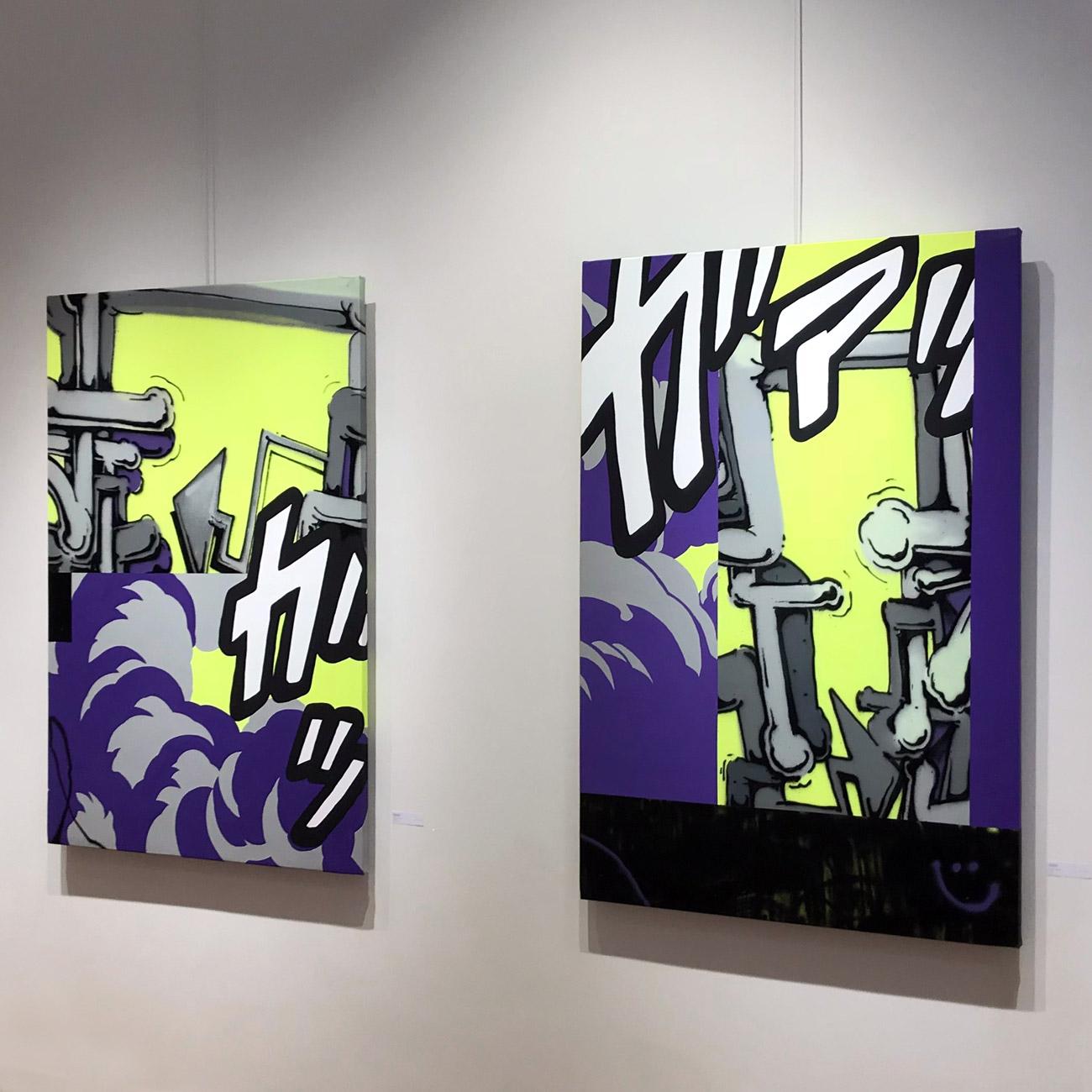 Alain Daudet Exhibition 2018 Toulouse