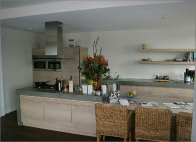 keuken eiken whitewash