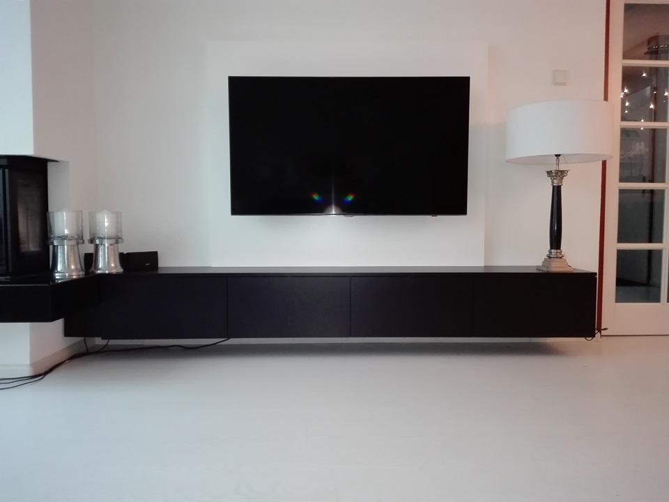 Tv meubel op maat deca designs maatwerkmeubelen