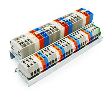 進聯 回拉式彈簧面板接線端子