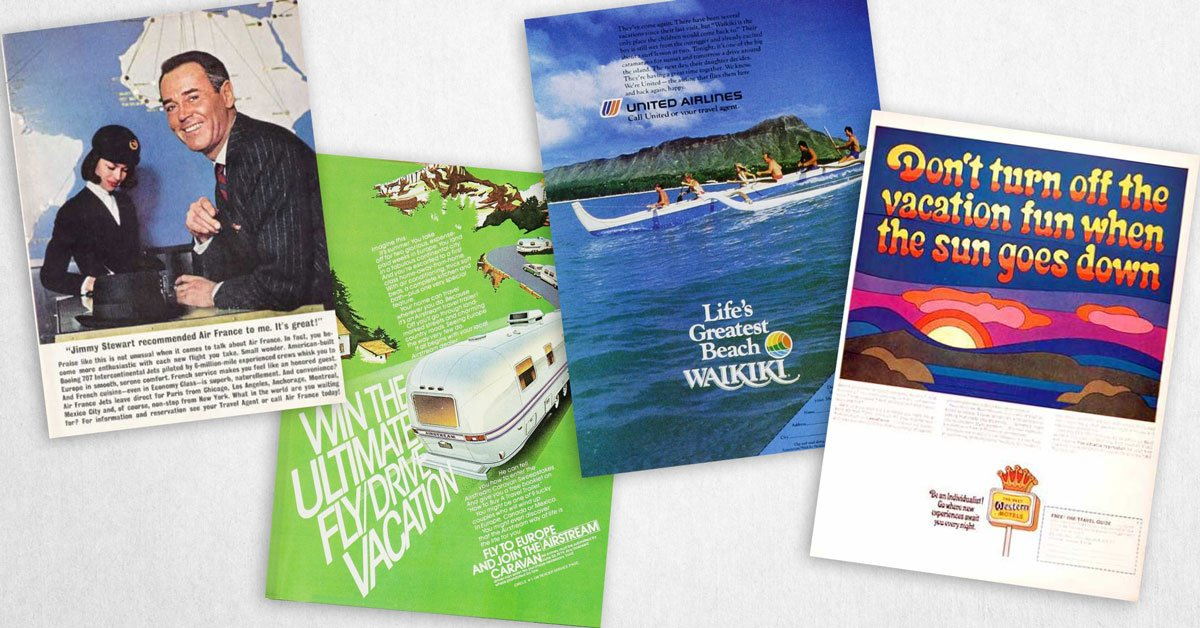 Can You Guess What Decade These Vintage Travel Ads Are From