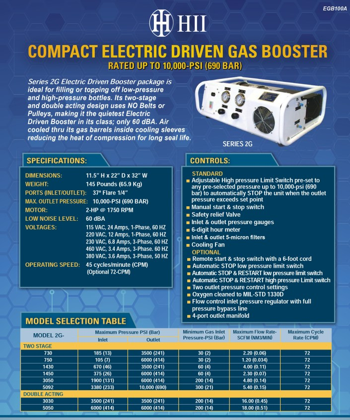 Electric Gas Booster