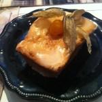Bolo de Laranja, o favorito da minha mãe. Na vez mais recente que estive no Café des Fleurs, esse bolinho estava praticamente em todas as mesas! A massa é leve e deliciosa.