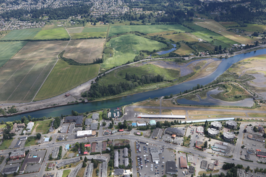City bridge proposal would harm airpark, Kus-kus-sum