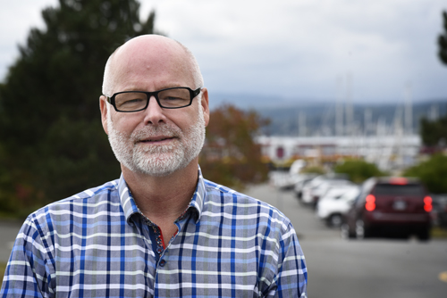"Russ Arnott: ""People are generally happy"" in Comox"