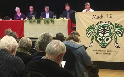 Five anti-fracking activists speak at CV forum