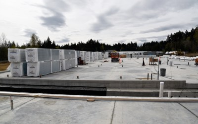Comox Cannabis Innovation Centre  construction underway