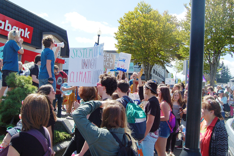 Comox Valley Students 'Stand up, Fight Back' for Climate Action