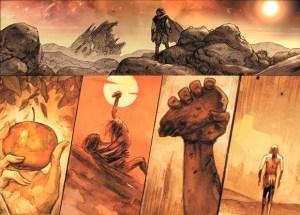 BD Noé, vignette du meurtre d'Abel par Caïn
