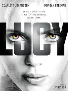L'affiche française de Lucy