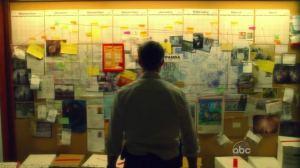 La Mosaïque dans la vision de Mark Benford, qui lui permet d'enquêter sur le Blackout