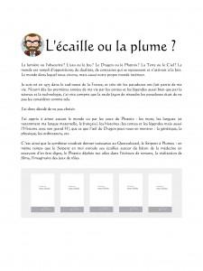 Concept actuel de page de biographie et de bibliographie