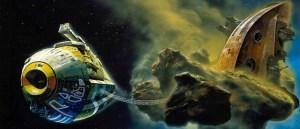Concept-art pour la scène d'ouverture du Dune de Jodorowsky