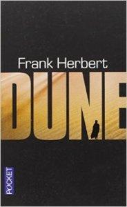 Couverture de l'édition Pocket française de Dune de Frank Herbert