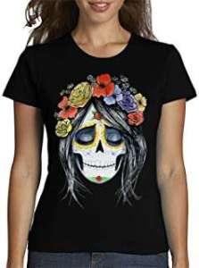 Camiseta Catrina para Mujer