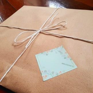 Gift Wrap calendar