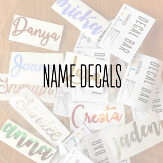 Name/Label Decals