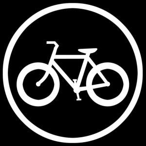 fat tire bike decal