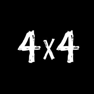 4x4 decal