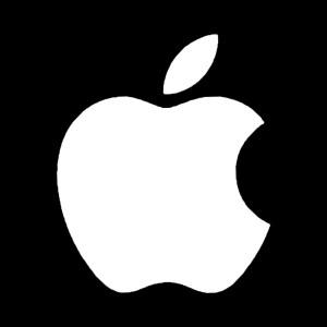 apple logo decal