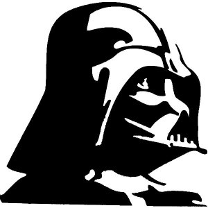 darth vader iron-on