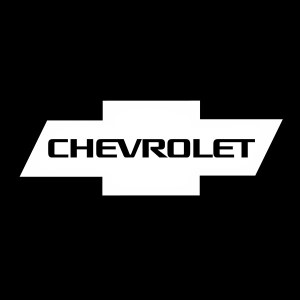 chevrolet bowtie with text decal