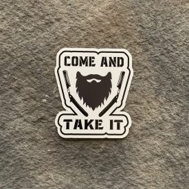 Come and Take my Beard Vinyl Decal