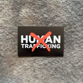 FUNDRAISER DECAL Ryan Weaver Heroes Collection- Anti Human Trafficking Vinyl Decal