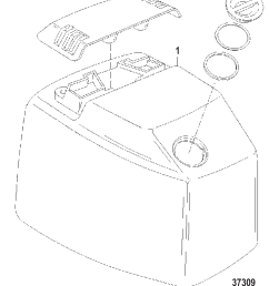 top cowl s n usa 0g301751 bel 9885505 and up diagram 37309 [ 1166 x 1331 Pixel ]