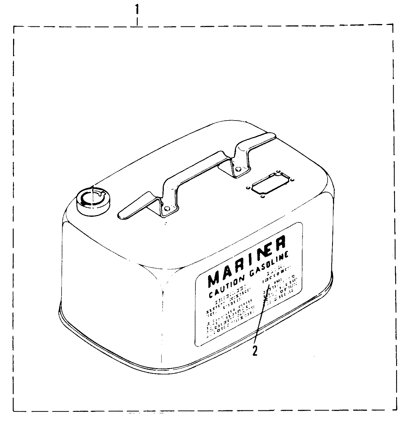 hight resolution of optional fuel tank assembly