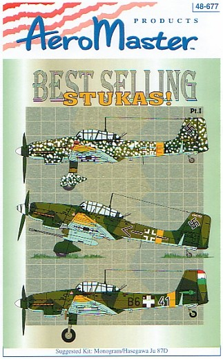 Best Selling Stukas Part 1 Review by Rob Baumgartner Aeromaster 148