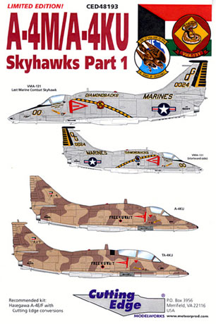 A4MA4KU Skyhawk Decal Review by Rodger Kelly Cutting Edge 148