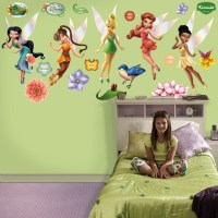 Disney Fairies Wall Decals -Tinker Bell and Friends ...