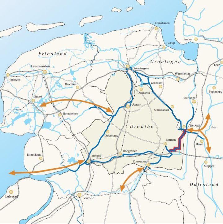 Rondje Drenthe met de Veenvaart of Koning Willem-Alexanderkanaal_de Canicula