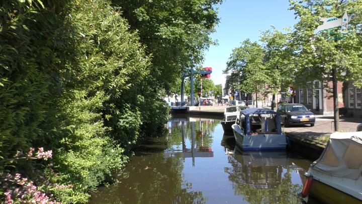 De Herenwalsterbrug in Heerenveen - de Canicula