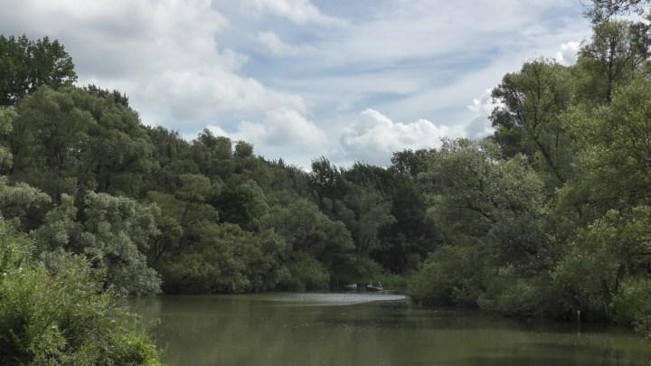 Veel mensen huren fluisterbootjes of varen met kano's vanwege de talloze ondiepe plaatsen - De Canicula