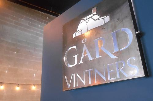 Gård Vintners Woodinville tasting room