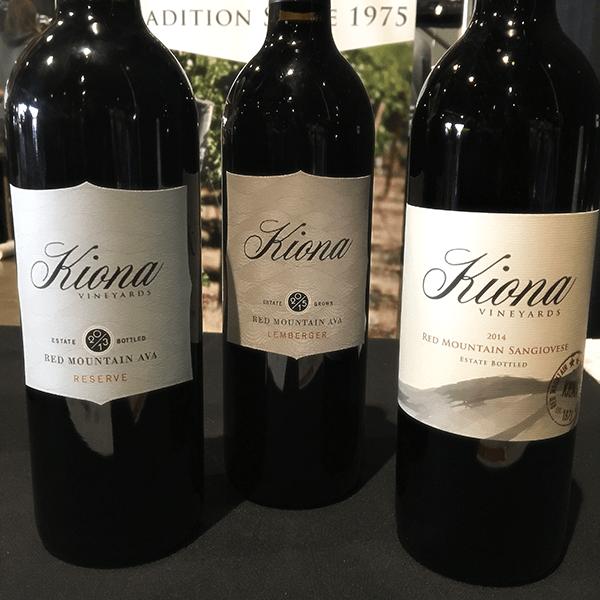 Kiona Vineyard wines at Taste WA 2018