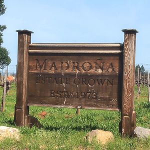 Madroña Vineyards, Placerville, CA