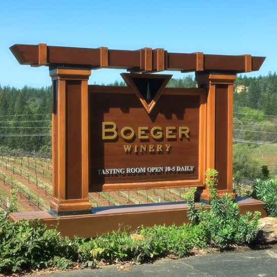 Boeger Winery, Placerville, CA