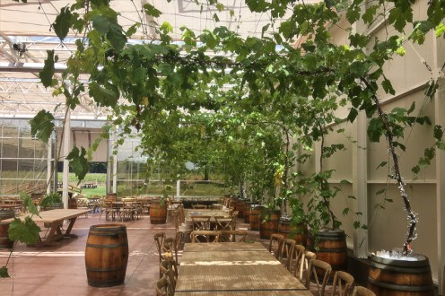 Glass House Estate Winery event space