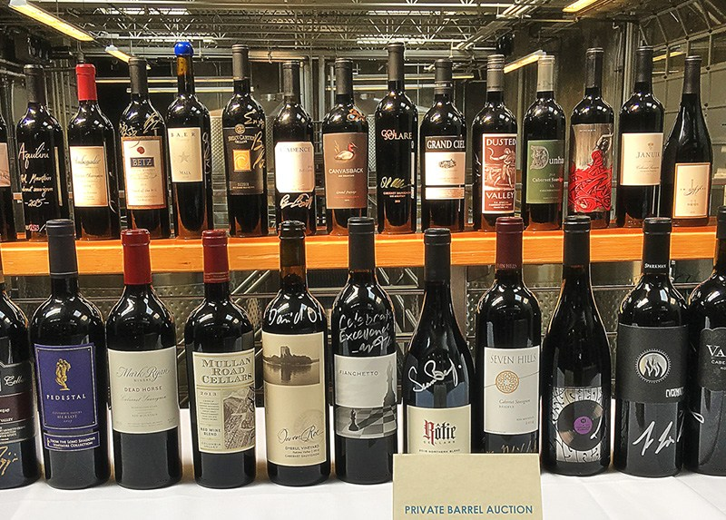 Auction of Washington Wines 2018