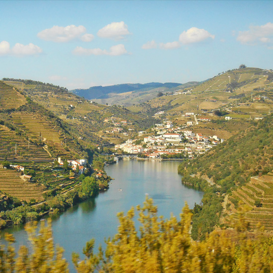 Town of Pinhão, Douro Valley