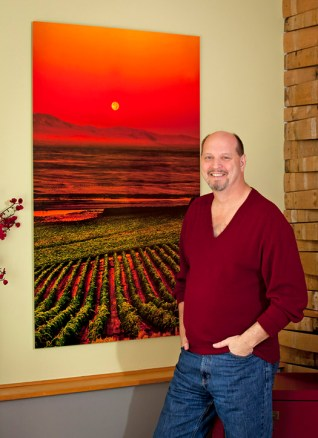 Washington wine photographer, Richard Duval