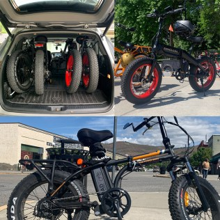 Decanted Podcast e-bikes from Sondors and Rad Powerbikes